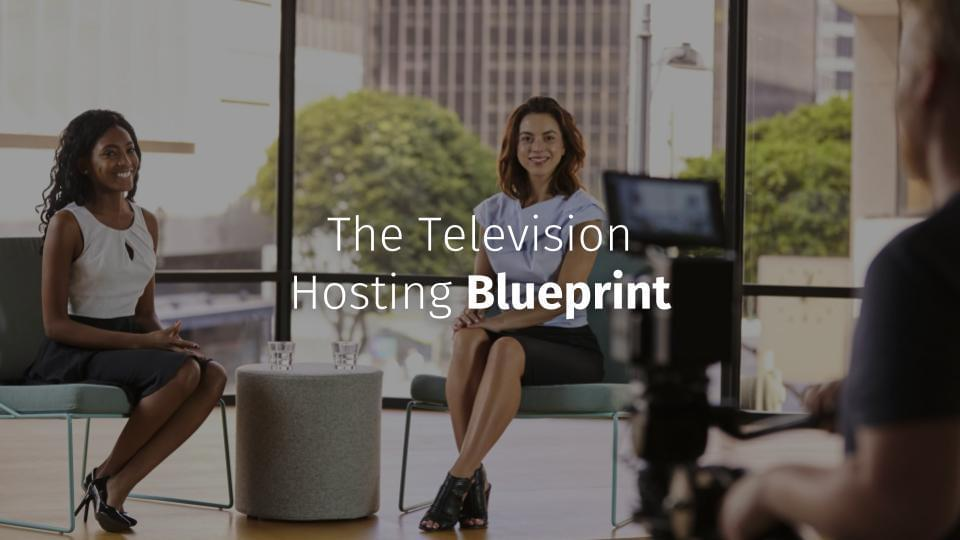 The Television Hosting Blueprint | Barbara Abel